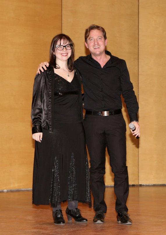 Veronica Fasanelli e Marco Clerici