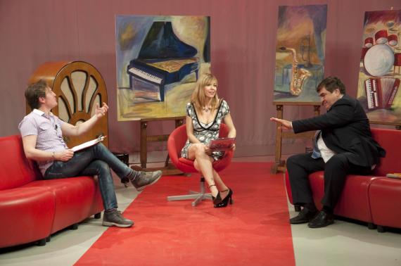 Marco Clerici, Mariarosa Aurelio e Ricky Renna
