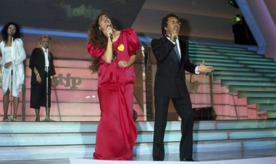 Al Bano e Romina Power in Cara terra mia
