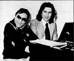 Vito Pallavicini e Toto Cutugno