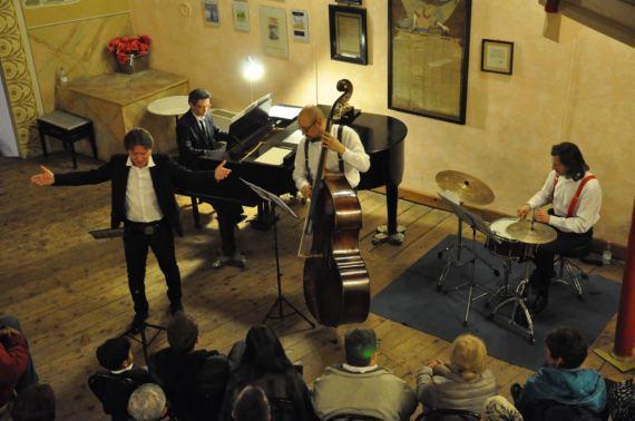 Marco Clerici con il Trio Joplin