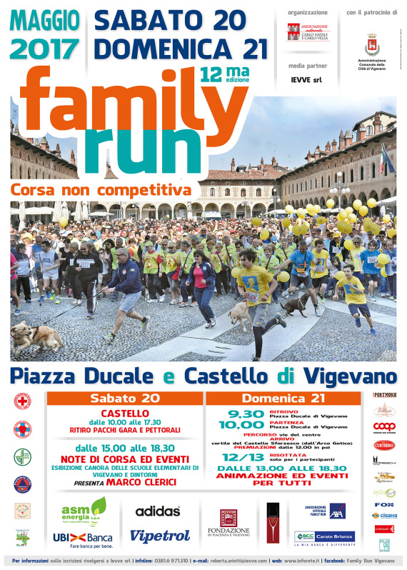 Manifesto Family Run 2017 stampa