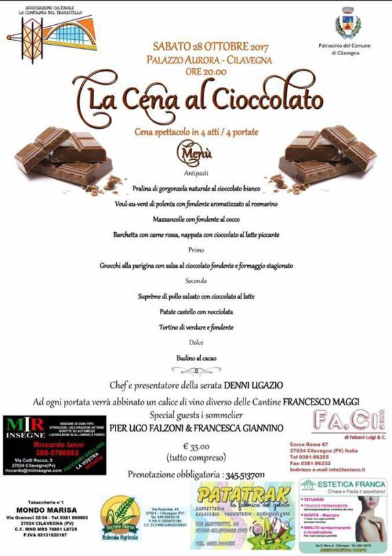 Locandina Cioccolato